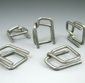 "1/2"" Steel Buckles for Polypropylene Strapping Kit (1000 per carton)"