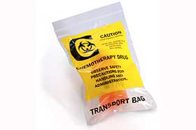 "6"" X 9"" 2 Mil Chemotherapy Drug Transport Bags (1,000 Bags)"