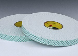 """1"""" x 108' 3M™ Industrial Double Sided Foam Tape 4016 (1/16"""" Thickness)"""