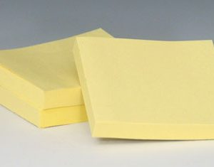 "3"" x 3"" 3M™ Post-It® Notes - Yellow (12 per package)"