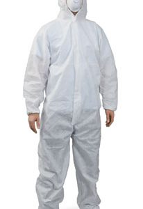 Polypropylene Coveralls with Hood - 4X-Large