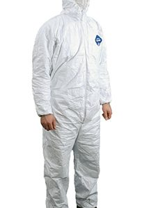 Tyvek® Coveralls with Hood - X-Large (25 per carton)