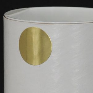 """1"""" Circle Gold Foil Colored Inventory Labels (500 Labels)"""