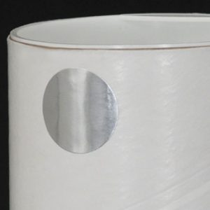 """1"""" Circle Silver Colored Inventory Labels (500 Labels)"""