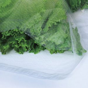 "16"" x 20"" Low Density Microperforated Resealable Bags - 24 Holes/PSI (1.5 mil) (1000 per carton)"