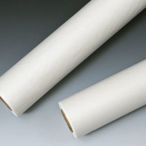 "18"" x 225' Medline White Exam Table Paper on a Roll - Smooth"