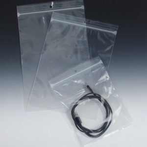 """4"""" x 4"""" Our Own Brand Zipper Bag with Hang Hole (4 mil) (1000 per box)"""