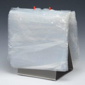 "11-1/4"" x 8"" Top-Loading Slider Zipper Deli Bags  (1.25 mil) (1000 per carton)"