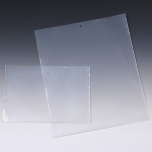 """10"""" x 12"""" Heavy-Duty Polyethylene Document Jackets with Short Side Opening and 1/4"""" Hang Hole (8 mil) (500 per carton)"""