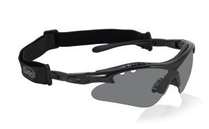 Black Vulcan Safety Glasses - Gray (12/Pack) - R3-5512-02