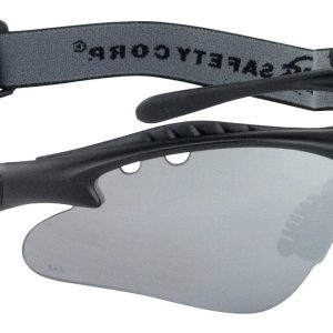 Black Vulcan Safety Glasses - Smoke Mirror (10/Pack) - R3-5512-04