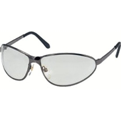 GunMetal Tomcat Safety Glasses - Gray, Anti-Scratch (10/Pack) - R3-S2451