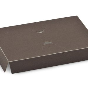 """Chocolate Embossed Gift Card Insert Holders 5-5/16x3-13/32x13/16"""" (2 Packs; 50 Inserts Per Pack)"""