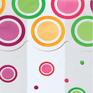"All Occasion Print Cello Bags - Mod Dots Bright 3 -1/2x2x7 -1/2"" Cello Bags 1.2 mil (3 Packs; 100 Bags Per Pack)"