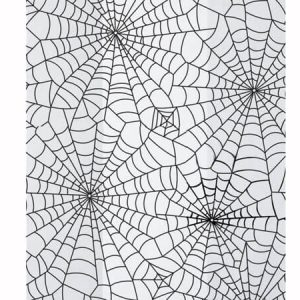"""Special Occasion Cello Bags - Spider Web 3 -1/2x2x7 -1/2"""" Cello Bags 1.2 mil (3 Packs; 100 Bags Per Pack)"""