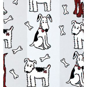 "All Occasion Print Cello Bags - Puppy Pals 4x2x9"" Cello Bags 1.2 mil (3 Packs; 100 Bags Per Pack)"