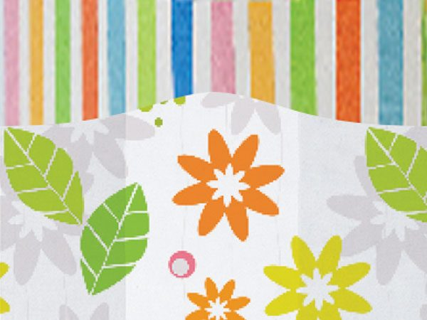 """All Occasion Print Cello Bags - Rain Forest 5x3x11"""" Cello Bags 1.2 mil (2 Packs; 100 Bags Per Pack)"""