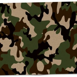 "All Occasion Theme Gift Cards - Camo Kraft Theme Gift Cards 3 -3/4x2 -3/4"" (30 Packs; 6 Cards Per Pack)"