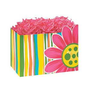 "All Occasion Basket Boxes - Small Citrus Garden Basket Boxes 6-3/4x4x5"" - (5 Packs; 6 Boxes Per Pack)"