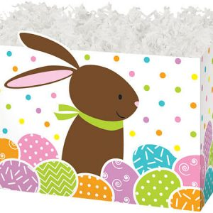 "Special Occasion Baskets Boxes - large_Chocolate Bunny Basket Boxes 10-1/4x6x7-1/2"" - (2 Packs; 6 Boxes Per Pack)"