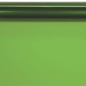 """Solid Color Cello Rolls - 30""""x100' Apple Green Cello Roll 1.0 mil (3 rolls)"""