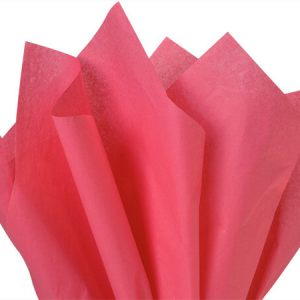"Azalea Pink Tissue Paper 20x30"" 24 Sheet Mini-pack (12 Packs)"