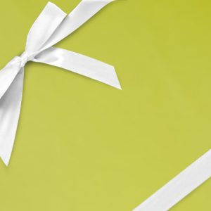 """Solid Color - Leaf Green Shimmer Frost 18""""x833' Gift Wrap Full Ream Roll (1 roll)"""