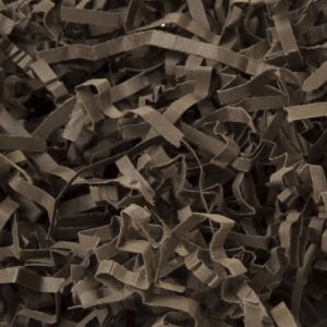 Chocolate Eco Fill Paper Shreds 6 lb Box ~ 100% Recycled