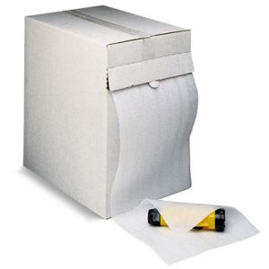"12"" x 175' Sealed Air® Cell-Aire® Poly Foam with Perforations in a Dispenser Box (1/8"")"