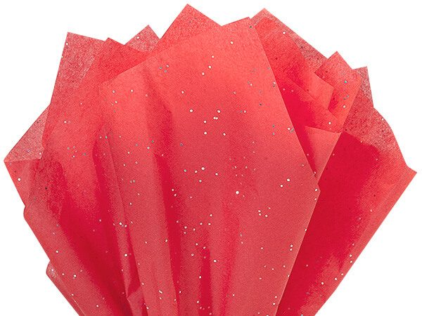 "Ruby Red Gemstone Tissue Paper 200 ~ 20""x30"" Sheets"