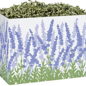 "All Occasion Basket Boxes - large_Lavender Field Basket Boxes 10-1/4x6x7-1/2"" - (2 Packs; 6 Boxes Per Pack)"
