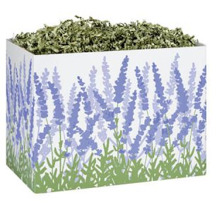 "All Occasion Basket Boxes - Small Lavender Field Basket Boxes 6-3/4x4x5"" - (5 Packs; 6 Boxes Per Pack)"