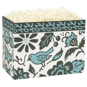 "All Occasion Basket Boxes - Small Morning Melody Basket Boxes 6-3/4x4x5"" - (5 Packs; 6 Boxes Per Pack)"
