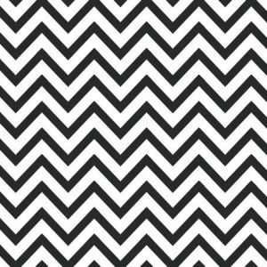 "Black Chevron Stripe Recycled 240~20""x30"" Sheets (240 Sheets)"