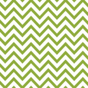 "Apple Green Chevron Stripe 240~20""x30"" Sheets Recycled (240 Sheets)"