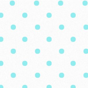 "Aqua Dots on White Tissue Paper 240~20""x30"" Sheets Recycled (240 Sheets)"