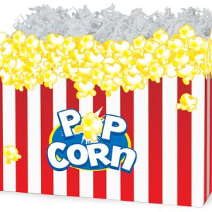 "All Occasion Basket Boxes - large_Popcorn Basket Boxes 10-1/4x6x7-1/2"" - (2 Packs; 6 Boxes Per Pack)"