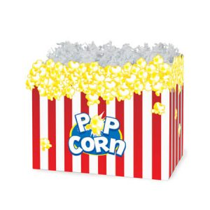 "All Occasion Basket Boxes - Small Popcorn Basket Boxes 6-3/4x4x5"" - (5 Packs; 6 Boxes Per Pack)"