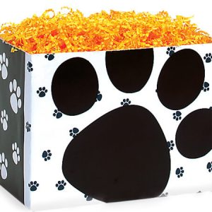 "All Occasion Basket Boxes - large_Pooch's Paws Basket Boxes 10-1/4x6x7-1/2"" - (2 Packs; 6 Boxes Per Pack)"