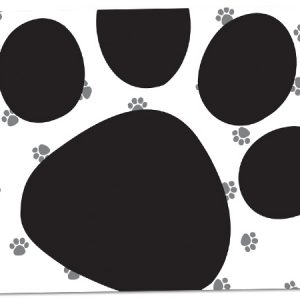 "All Occasion Theme Gift Cards - Pooch's Paws Theme Gift Cards 3 -3/4x2 -3/4"" (30 Packs; 6 Cards Per Pack)"
