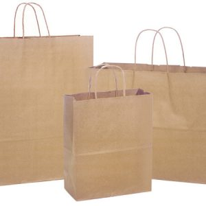 100% Recycled Brown Paper Bags - 100% Recycled 300 Bag Assortment Kraft Paper Shopping Bags (300 bags)