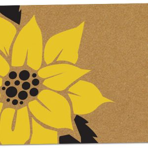 "All Occasion Theme Gift Cards - SunFlower Theme Gift Card 3 -3/4x2 -3/4"" (30 Packs; 6 Cards Per Pack)"