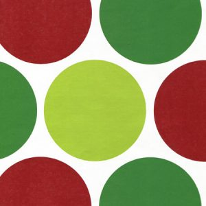 "Merry Dots 24""x417' Recycled Gift Wrap Counter Roll (1 Roll)"