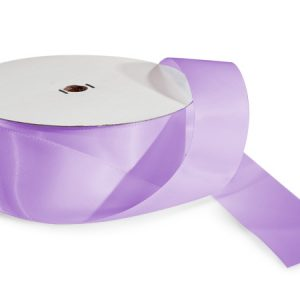 "Lavender Value Double Faced Satin 1-1/2""x50 yds 100% Polyester Ribbon (3 Spools)"