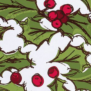 "Holly Berry Toss 24""x85' Recycled Gift Wrap Cutter Box (2 Boxes)"