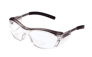 Gray 3M Nuvo Readers Safety Eyewear - Clear, +1.5 (8/Pack) - R3-11434-00000-20