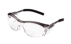 Gray 3M Nuvo Readers Safety Eyewear - Clear, +2.5 (8/Pack) - R3-11436-00000-20