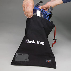 "16"" x 14"" Respirator Storage Bags, Full mask - (5 Each) - R3-2025"