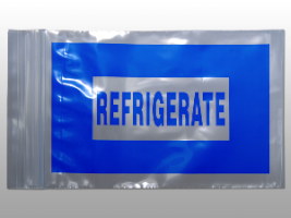 12 x 15 2 Mil Seal Top Blue Refrigerate Bag (1000/Case)