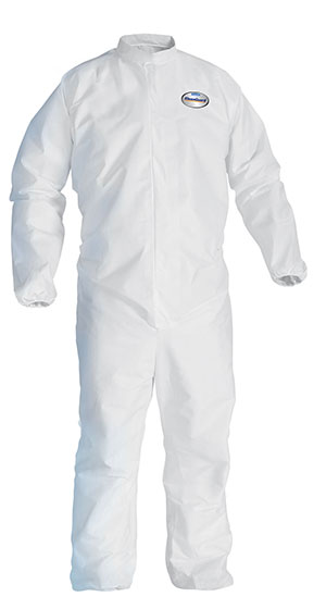Disposable Clothing - 3XL White KleenGuard* A20 Breathable Particle Protection Coveralls - (20/Case) - R3-49106
